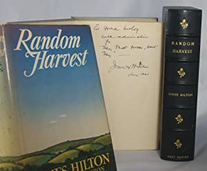 RANDOM HARVEST (First Edition, Inscribed to Horace McCoy, referencing his admiration for McCoy&#x27...