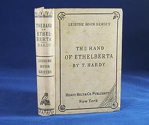THE HAND OF ETHELBERTA: Hardy, Thomas