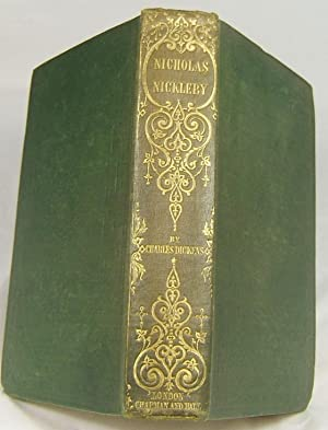 "NICHOLAS NICKLEBY (Superb Example of the First ""Cheap"" Edition in Original Cloth): ..."