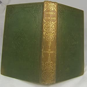 "DOMBEY AND SON (Superb Example of the First ""Cheap"" Edition in Original Cloth): Dickens, ..."