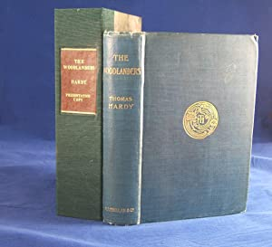 THE WOODLANDERS (Presentation Copy Inscribed By the Author to His Second Wife, Florence Hardy): ...