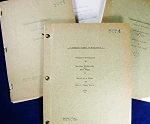 SHERLOCK HOLMES IN WASHINGTON (Unique Manuscript Archive for the 1943 original Universal film ...