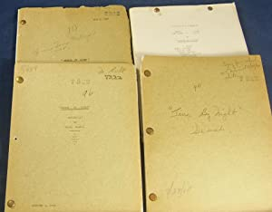 TERROR BY NIGHT (Unique Manuscript Screenplay Archive for the 1945-6 original Universal film ...