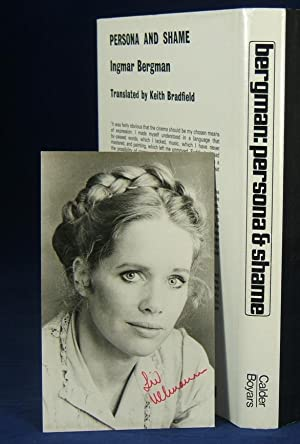 PERSONA & SHAME (with Signed Liv Ullman Photograph): Bergman, Ingmar