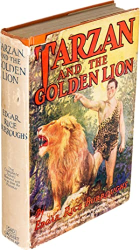 TARZAN and the GOLDEN LION (First Photoplay Edition, INSCRIBED): Burroughs, Edgar Rice