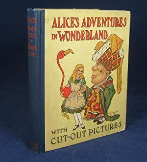 ALICE'S ADVENTURES IN WONDERLAND (WITH CUT-OUT PICTURES AND COLORS): Carroll, Lewis (Charles ...