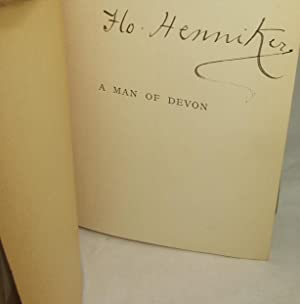 A MAN OF DEVON: Short Stories Including the First Appearance of a Forsyte Character (the Florence ...