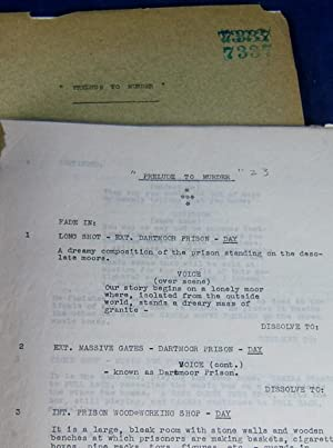 DRESSED TO KILL (Unique Manuscript Screenplay Archive for the 1946 Universal Studios SHERLOCK ...