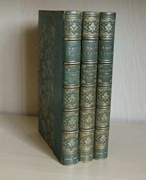 EAST LYNNE (1861 First Edition in Three Volumes with Autograph Letter): Wood, Ellen, Mrs. Henry (...