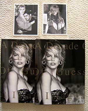 A DECADE OF GUESS? 1981-1991 (Superb Copy In Rare Original Slipcase) (with TWO ORIGINAL PHOTOS OF ...