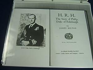 Original Manuscript of HRH: THE STORY OF PHILIP, DUKE OF EDINBURGH (48pp Heavily Corrected ...