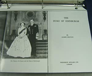 Original Manuscript of HRH: THE STORY OF PHILIP, DUKE OF EDINBURGH (48pp Heavily Corrected ...