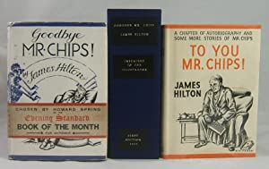 GOODBYE MR. CHIPS (First Edition Presented to the Novel's Illustrator -- with an Original ...