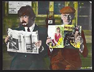 A HARD DAY'S NIGHT: ORIGINAL HAND-COLORED PHOTOGRAPHIC ARTWORK USED TO PRODUCE PROMOTIONAL ...