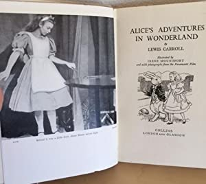 ALICE IN WONDERLAND (Superb Copy of the 1933 English Film Photoplay Version in Original Dust Jacket...