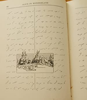 ALICE IN WONDERLAND WRITTEN IN GREGG SHORTHAND (The Correct 1919 First Issue): Carroll, Lewis (...