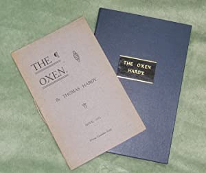THE OXEN (First Edition in Custom slipcase): Hardy, Thomas