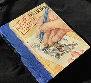 ON HER MAJESTY'S SECRET SERVICE (Fine/Fine Presentation: Fleming, Ian