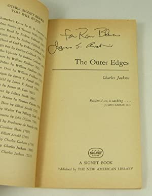 THE OUTER EDGES (Signed By Cover Artist James Avati): Jackson, Charles
