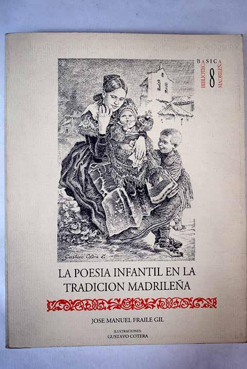 La poesía infantil en la tradición madrileña