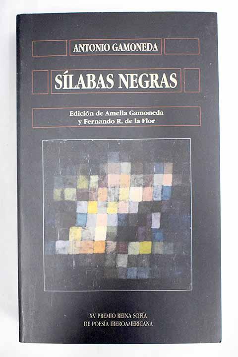 Sílabas negras - Gamoneda, Antonio