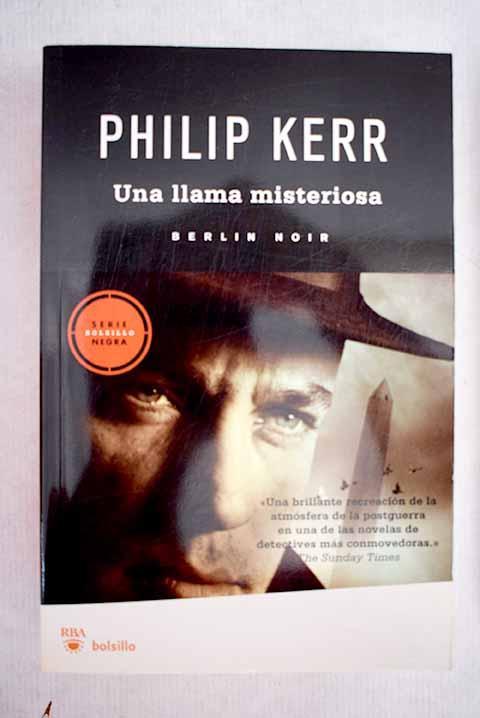 Una llama misteriosa - Kerr, Philip