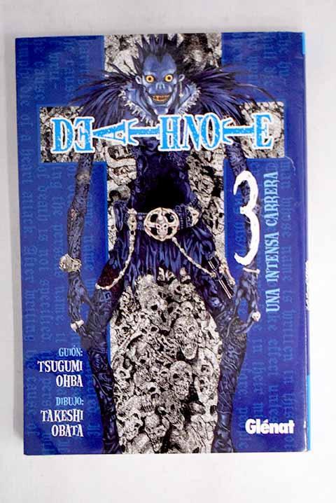 Death note, 3. Una intensa carrera - Oba, Tsugumi