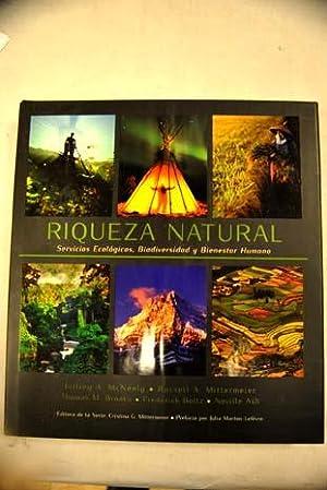 Riqueza natural. Servicios ecológicos, biodiversidad y bienestar humano: Mcneely, A. Jeffrey