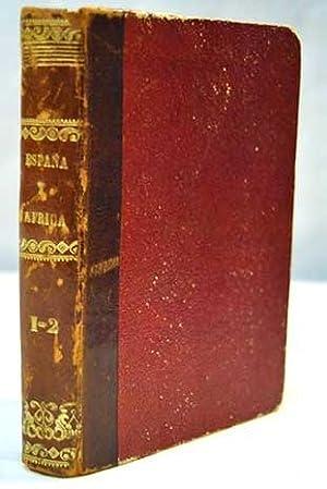 Espana y Africa: cartas selectas, (2 tomos en 1 volumen OBRA COMPLETA): Dumas, Alejandro