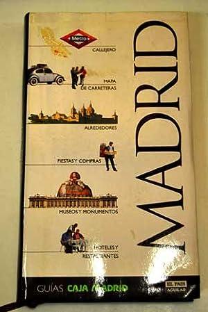 Madrid: callejero, mapa, alrededores, restaurantes, monumentos, hoteles,: Echenagusia, Javier