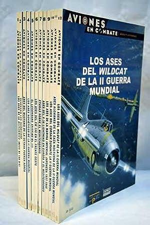 Aviones en combate: ases, leyendas y modelos. Fichas tecnicas (12 vols.): VV. AA