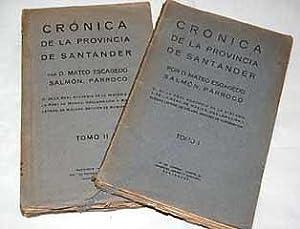 Crónica de la provincia de Santander: Escagedo Salmón, Mateo