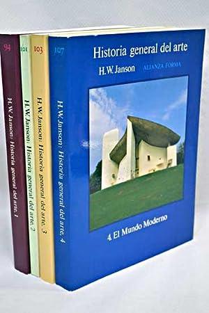 Historia general del arte (4 Vols.): Janson, H. W.