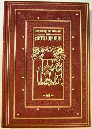 Arte cisoria: tratado del arte de cortar: Villena, Enrique de