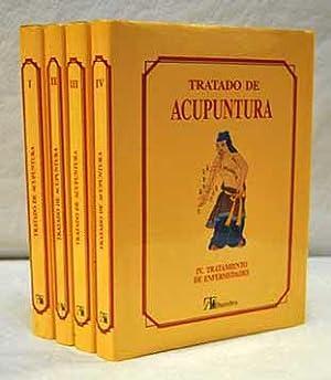 Tratado de acupuntura (4 Vols. 1. Teoria general 2. Diagnosis y sindromes 3. Terapia acupuntural 4....
