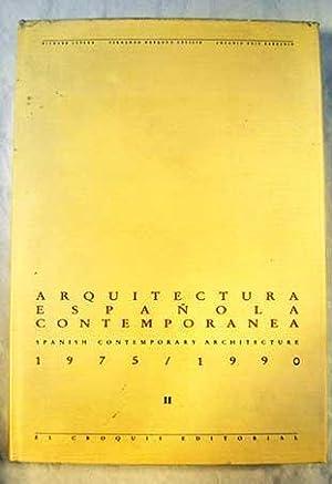 Arquitectura española contemporánea: = Spanish Contemporary Architecture: Levene, Richard C.