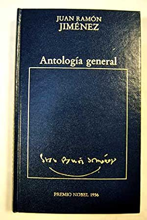 Antología general: Jiménez, Juan Ramón