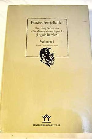 Biografías y Documentos sobre Música y Músicos: Barbieri, Francisco A.