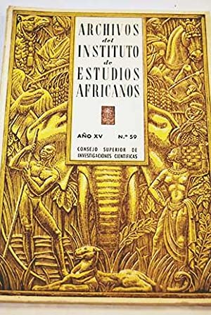 La prehistoria africana en el último cuarto: Pericot, Luis