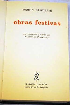 Obras festivas: Salazar, Eugenio de