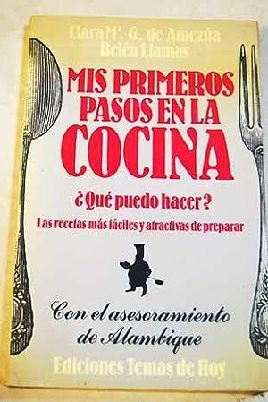 Mis primeros pasos en la cocina: González de Amezúa,