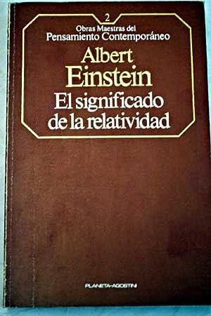 Sobre la teoría especial y la teoría: Einstein, Albert