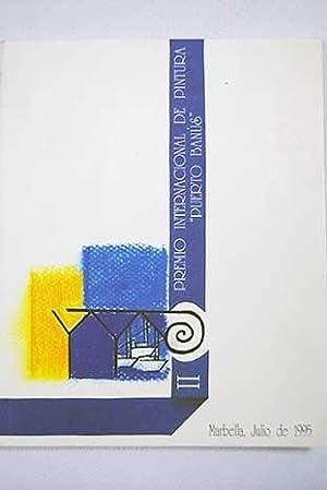 """II Premio Internacional de Pintura """"Puerto Banús"""":"""