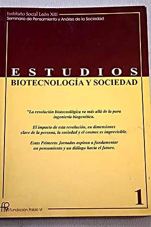 Biotecnología y sociedad: VV. AA