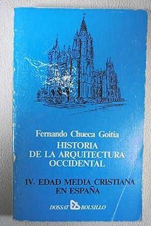 Historia de la arquitectura occidental. Tomo IV: Chueca Goitia, Fernando