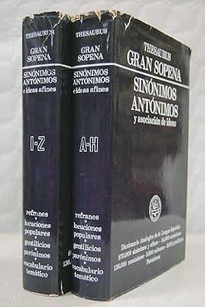 Thesaurus. Gran Sopena de sinónimos y asociación: Ortega Cavero, David