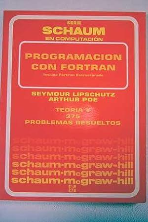 Teoría y problemas de programación con Fortran: Lipschutz, Seymour