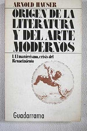 Origen de la literatura y del arte: Hauser, Arnold