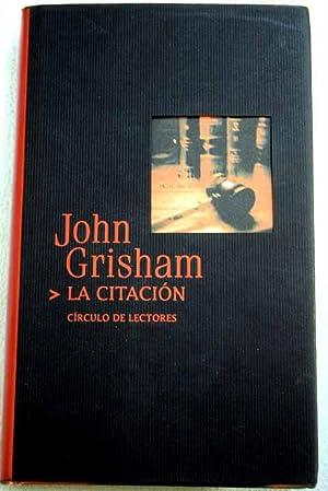 La citación: Grisham, John