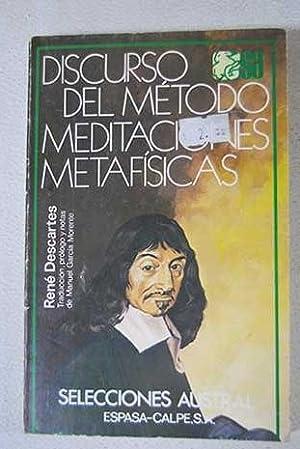 Discurso del método: Meditaciones metafísicas: Descartes, René